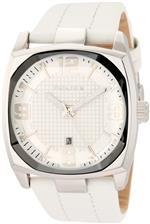 アイス 時計 Police Mens PL-12963JS/01 Edge White/White Leather Watch