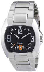 アイス 時計 Police Mens PL-12553JS/02MA Crossbow Black Stainless Steel Watch