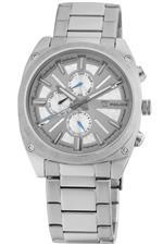 アイス 時計 Police Mens PL-12699JS/04M Enforce Silver Dial Stainless Steel Band Watch