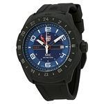 ルミノックス 時計 Luminox Space Blue Dial Black Rubber Mens Watch 5023