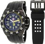 <img class='new_mark_img1' src='https://img.shop-pro.jp/img/new/icons17.gif' style='border:none;display:inline;margin:0px;padding:0px;width:auto;' />ルミノックス 時計 Luminox Scott Cassell Automatic Black Dial Black Rubber Strap Mens Watch 1526