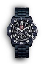 ルミノックス 時計 Luminox Navy Seal Colormark Chronograph Black and White Mens Watch 3082