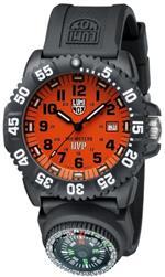 <img class='new_mark_img1' src='https://img.shop-pro.jp/img/new/icons5.gif' style='border:none;display:inline;margin:0px;padding:0px;width:auto;' />ルミノックス 時計 Luminox Scott Cassell Orange Dial Black Polyurethane Mens Watch 3059.SET