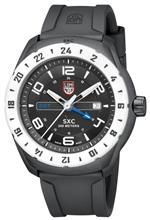 ルミノックス 時計 Luminox 5027 Watch SXC Space Mens - Black Dial Carbon Case Swiss Quartz Movement