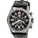 ルミノックス 時計 Luminox Mens 1941 Atacama Field Black Genuine Leather Watch