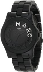 マーク ジェイコブス 時計 Marc Jacobs Glitz Bracelet Quartz Black Womens Watch MBM4527