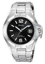 パルサー 時計 Pulsar Mens PXH557 Sport Silver-Tone Stainless Steel Watch<img class='new_mark_img2' src='https://img.shop-pro.jp/img/new/icons14.gif' style='border:none;display:inline;margin:0px;padding:0px;width:auto;' />