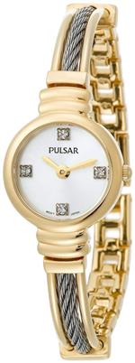 パルサー 時計 Pulsar Womens PTA370 Crystal Accented Two-Tone Stainless Steel Watch<img class='new_mark_img2' src='https://img.shop-pro.jp/img/new/icons27.gif' style='border:none;display:inline;margin:0px;padding:0px;width:auto;' />