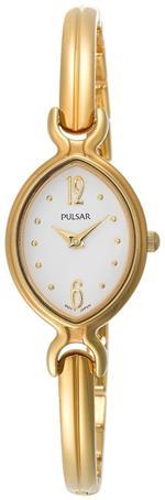 パルサー 時計 Pulsar Womens PTA386 Dress White Dial Gold-Tone Watch<img class='new_mark_img2' src='https://img.shop-pro.jp/img/new/icons30.gif' style='border:none;display:inline;margin:0px;padding:0px;width:auto;' />