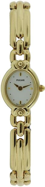 パルサー 時計 Pulsar PRY718X1 Gold Steel Bracelet amp Case Womens Quartz Watch