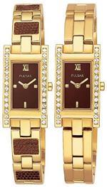 パルサー 時計 Pulsar by Seiko PEG772 Ladies Watch Gold Tone Stainless Steel Black Dial<img class='new_mark_img2' src='https://img.shop-pro.jp/img/new/icons13.gif' style='border:none;display:inline;margin:0px;padding:0px;width:auto;' />