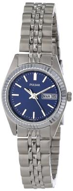パルサー 時計 Pulsar Womens PN8001 Dress Silver-Tone Stainless Steel Watch
