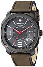 ウェンガー 時計 Wenger Mens 01.1051.104 Escort Analog Display Swiss Quartz Brown Watch<img class='new_mark_img2' src='https://img.shop-pro.jp/img/new/icons18.gif' style='border:none;display:inline;margin:0px;padding:0px;width:auto;' />