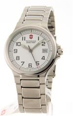 ビクトリノックス スイスアーミー 時計 Victorinox Swiss Army Peak II Small White Dial Stainless Steel