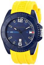 トミー ヒルフィガー 時計 Tommy Hilfiger Mens 1791043 Analog Display Quartz Yellow Watch<img class='new_mark_img2' src='https://img.shop-pro.jp/img/new/icons28.gif' style='border:none;display:inline;margin:0px;padding:0px;width:auto;' />