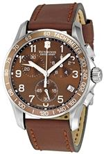 ビクトリノックス スイスアーミー 時計 Victorinox Swiss Army Mens 241151 Chrono Classic Brown Dial<img class='new_mark_img2' src='https://img.shop-pro.jp/img/new/icons3.gif' style='border:none;display:inline;margin:0px;padding:0px;width:auto;' />