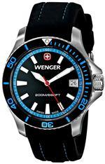ウェンガー 時計 Wenger Womens 0621.102 Sea Force 3 H Analog Display Swiss Quartz Black Watch<img class='new_mark_img2' src='https://img.shop-pro.jp/img/new/icons5.gif' style='border:none;display:inline;margin:0px;padding:0px;width:auto;' />