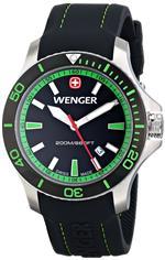 ウェンガー 時計 Wenger Mens 01.0641.108 Sea Force 3H Analog Display Swiss Quartz Black Watch<img class='new_mark_img2' src='https://img.shop-pro.jp/img/new/icons15.gif' style='border:none;display:inline;margin:0px;padding:0px;width:auto;' />