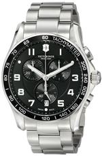 ビクトリノックス スイスアーミー 時計 Victorinox Mens 241650 Chrono Classic Analog Display Swiss