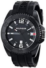 トミー ヒルフィガー 時計 Tommy Hilfiger Mens 1791041 Analog Display Quartz Black Watch