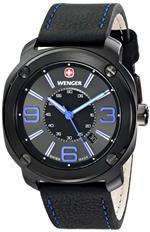ウェンガー 時計 Wenger Mens 01.1051.105 Escort Analog Display Swiss Quartz Black Watch<img class='new_mark_img2' src='https://img.shop-pro.jp/img/new/icons22.gif' style='border:none;display:inline;margin:0px;padding:0px;width:auto;' />
