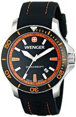 ウェンガー 時計 Wenger Mens 0641.102 Sea Force 3H Analog Display Swiss Quartz Black Watch<img class='new_mark_img2' src='https://img.shop-pro.jp/img/new/icons8.gif' style='border:none;display:inline;margin:0px;padding:0px;width:auto;' />