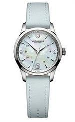 ビクトリノックス スイスアーミー 時計 Victorinox Alliance Small Mother of Pearl Dial Leather Strap<img class='new_mark_img2' src='https://img.shop-pro.jp/img/new/icons21.gif' style='border:none;display:inline;margin:0px;padding:0px;width:auto;' />
