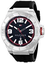 トミー ヒルフィガー 時計 Tommy Hilfiger Mens 1791034 Analog Display Quartz Black Watch