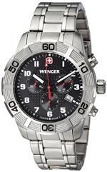 ウェンガー 時計 Wenger 01.0853.102 Mens Roadster Chrono Watch