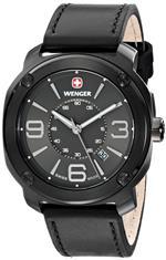ウェンガー 時計 Wenger Mens 01.1051.108 Escort Analog Display Swiss Quartz Black Watch<img class='new_mark_img2' src='https://img.shop-pro.jp/img/new/icons22.gif' style='border:none;display:inline;margin:0px;padding:0px;width:auto;' />