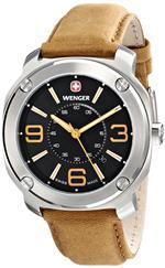 ウェンガー 時計 Wenger Mens 01.1051.102 Escort Analog Display Swiss Quartz Brown Watch<img class='new_mark_img2' src='https://img.shop-pro.jp/img/new/icons19.gif' style='border:none;display:inline;margin:0px;padding:0px;width:auto;' />
