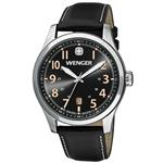 ウェンガー 時計 Wenger Terragraph Watch Grey Dial Black Leather Strap 541.104<img class='new_mark_img2' src='https://img.shop-pro.jp/img/new/icons31.gif' style='border:none;display:inline;margin:0px;padding:0px;width:auto;' />