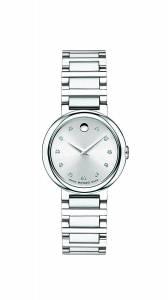 [モバード]Movado 腕時計 Concerto Stainless Steel Watch with Diamonds 0606789 レディース [並行輸入品]