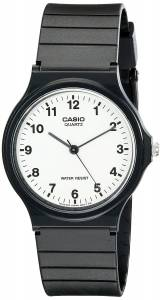 [カシオ]Casio 腕時計 Analog Black Resin Watch MQ24-7B ユニセックス [逆輸入]