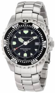[モーメンタム]Momentum 腕時計 M1 Black Dial StainlessSteel Bracelet Watch 1M-DV00B0 メンズ [並行輸入品]