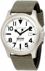 [モーメンタム]Momentum 腕時計 Cordura Stainless Steel Watch with Canvas Band 1M-SP00W6G メンズ [並行輸入品]