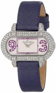 [オーガストシュタイナー]August Steiner 腕時計 The Waldorf Swarovski Crystal Watch AS09PU レディース [並行輸入品]