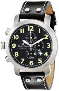 [ルシアン ピカール]Lucien Piccard 腕時計 Reverse Side Chronograph Watch 26963BK メンズ [並行輸入品]