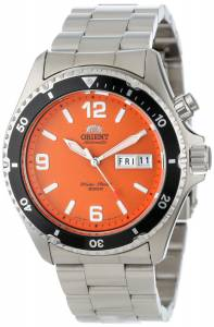 [オリエント]Orient 腕時計 Orange Mako Stainless Steel Automatic Dive Watch CEM65001M メンズ [並行輸入品]
