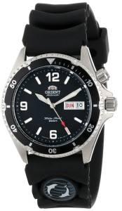 [オリエント]Orient 腕時計 'Black Mako' Automatic Rubber Strap Dive Watch CEM65004B メンズ [並行輸入品]
