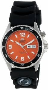 [オリエント]Orient 腕時計 'Orange Mako' Automatic Rubber Strap Dive Watch CEM65004M メンズ [並行輸入品]