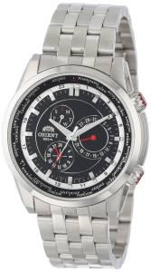 [オリエント]Orient 腕時計 Revolution World Time Watch CUT05005B0 メンズ [並行輸入品]
