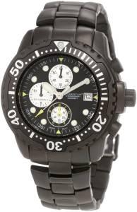 [モーメンタム]Momentum 腕時計 Shadow II Chrono Black PVD Bracelet Watch 1M-DV88B0 メンズ [並行輸入品]