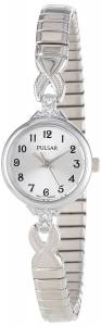 [パルサー]Pulsar 腕時計 Expansion Crystal Accented SilverTone Stainless Steel Watch PPH549 レディース [並行輸入品]