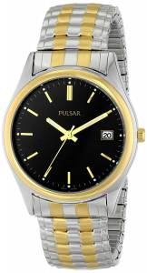 [パルサー]Pulsar 腕時計 Expansion TwoTone Stainless Steel Watch PXH428 メンズ [並行輸入品]