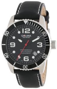 [ゴラナ スイス]Golana Swiss 腕時計 Aqua Pro 200 Quartz Watch AQ200-1 メンズ [並行輸入品]