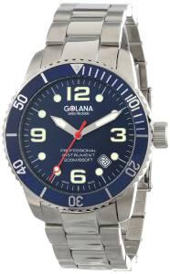 [ゴラナ スイス]Golana Swiss 腕時計 Aqua Pro 200 Quartz Watch AQ200-4 メンズ [並行輸入品]
