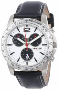 [ゴラナ スイス]Golana Swiss 腕時計 Terra Pro 200 Quartz Chronograph Watch TE200-3 メンズ [並行輸入品]