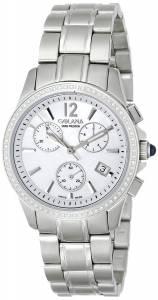 [ゴラナ スイス]Golana Swiss 腕時計 Aura Pro 200 Diamonds Quartz Chronograph Watch AU200-5 レディース [並行輸入品]