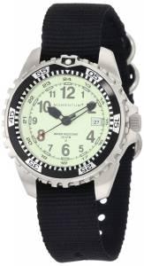 [モーメンタム]Momentum 腕時計 Stainless Steel Watch with Black Nylon Band 1M-DV00L8B メンズ [並行輸入品]